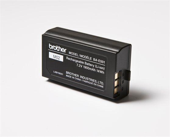 BROTHER Akkumulátor, lítium-ionos, PTH300 és PTH500 típusú feliratozógéphez, BROTHER