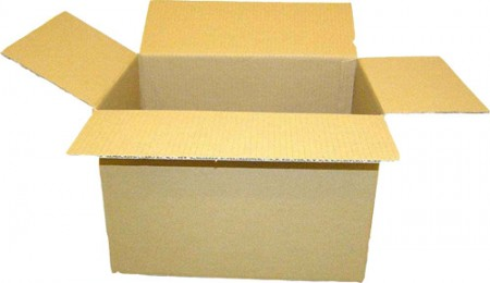 Kartondoboz /44 x 32,5 x 30 cm/