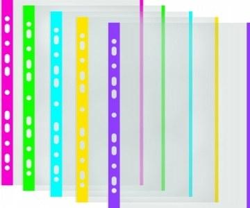 DONAU színes szélű lefűzhető genotherm, A4, 40 mikron, narancsos felület