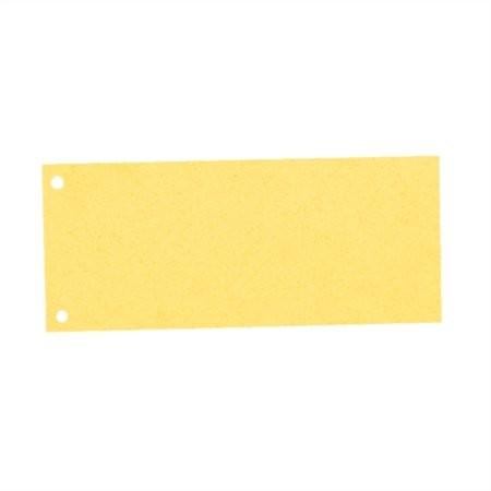 ESSELTE Elválasztócsík, karton, ESSELTE, sárga