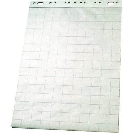 ESSELTE Flipchart papír, sima-kockás, 60x85 cm, 50 lap, ESSELTE