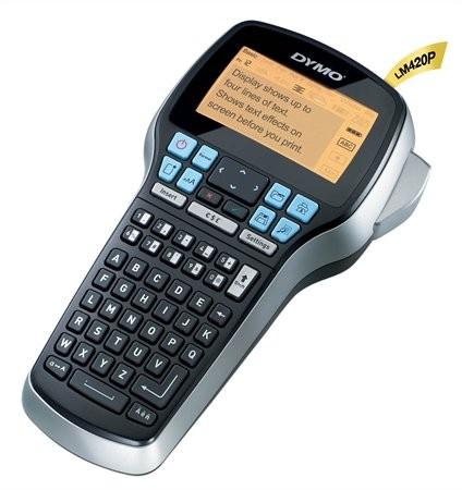 """Elektromos feliratozógép, DYMO """"LM 420P"""""""