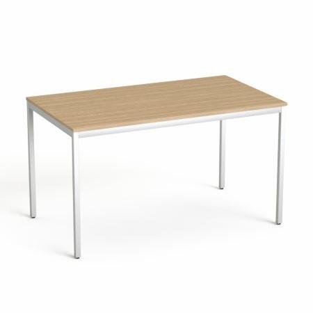 """MAYAH Általános asztal fémlábbal, 75x130 cm, MAYAH """"Freedom SV-38"""", kőris"""