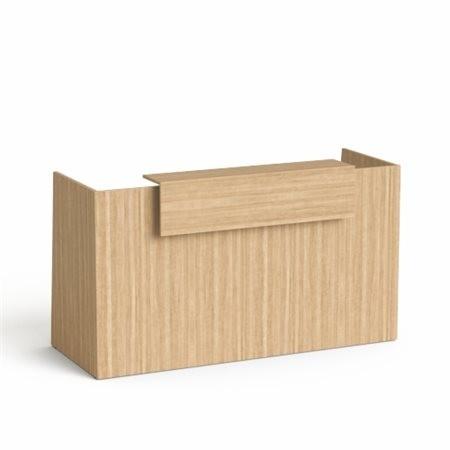 "MAYAH Recepciós asztal, 190x64,5 cm, MAYAH ""Freedom SV-92"", kőris"