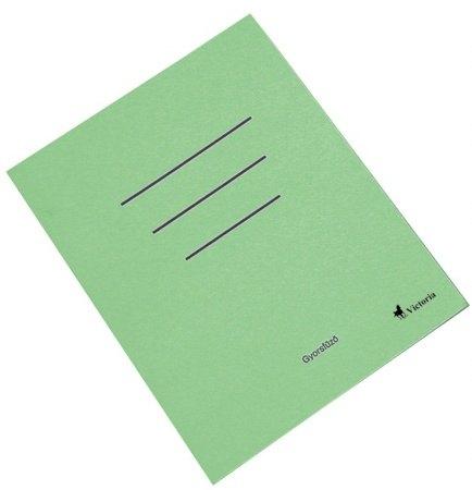 Victoria papír gyorsfűző, színes