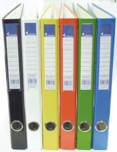 VICTORIA Gyűrűs könyv, 4 gyűrű, 35 mm, A4, PP/karton