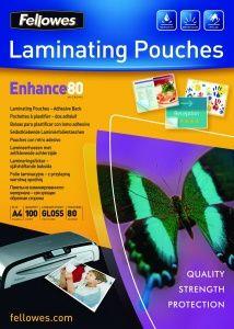 FELLOWES 80 A/4 lamináló fólia