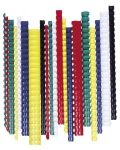 FELLOWES Spirál, műanyag, 28 mm, 201-240 lap, FELLOWES, 50 db, fehér