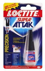 HENKEL Loctite Super Attak Precision pillanatragasztó, 5 g
