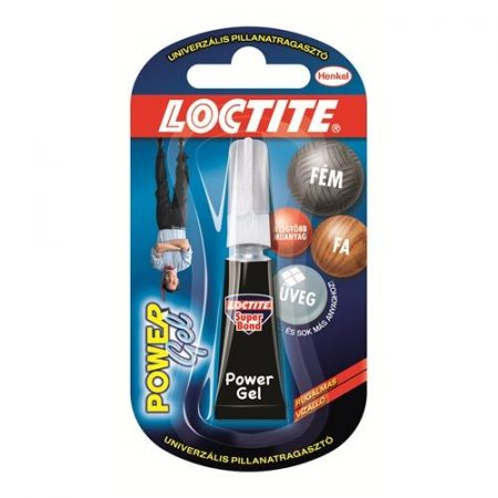 HENKEL Loctite Super Bond folyékony gél pillanatragasztó, 3 g