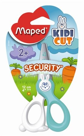 "MAPED Olló, óvodai, 12 cm, műanyag él, MAPED ""Kidikut"""