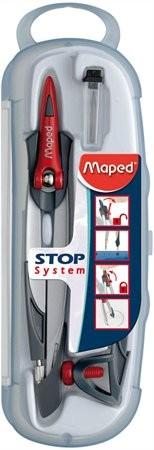 """MAPED Körző készlet, rögzíthető lábakkal, 3 darabos, MAPED """"Stop System"""""""