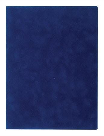 VICTORIA Oklevéltartó, plüss, A4, VICTORIA, kék