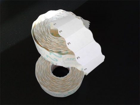 """METO Árazógépszalag, 26x16 mm, METO, """"Ft"""", fehér"""