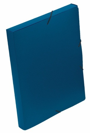VIQUEL Coolbox Gumis mappa 30 mm, PP, A4