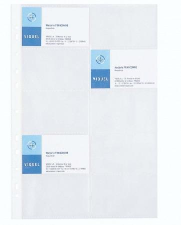 VIQUEL névjegytartó genotherm, A4, 100 mikron, víztiszta