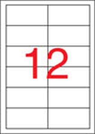 APLI Etikett, univerzális, 97x42,4 mm, eltávolítható, APLI, 1200 etikett/csomag