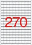 APLI Etikett, univerzális, 17,8x10 mm, eltávolítható, kerekített sarkú, APLI, 6750 etikett/csomag