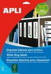 APLI Etikett, univerzális, 190x61 mm, APLI, 100 etikett/csomag