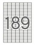 APLI Etikett, univerzális, kerekített sarkú, 25,4x10 mm, APLI, 1890 etikett/csomag