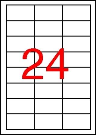 APLI Etikett, 64,6x33,8 mm, poliészter, időjárásálló, APLI, 2400 etikett/csomag