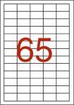 APLI Etikett, univerzális, 38x21,2 mm, APLI, 6500 etikett/csomag