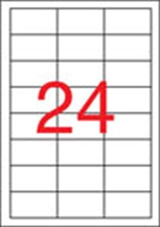 APLI Etikett, univerzális, 64,6x33,8 mm, APLI, 2400 etikett/csomag