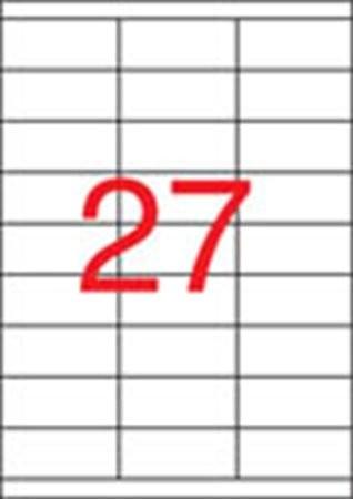 APLI Etikett, univerzális, 70x30 mm, APLI, 2700 etikett/csomag