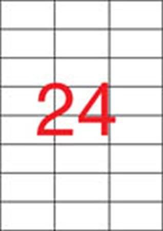 APLI Etikett, univerzális, 70x37 mm, APLI, 2400 etikett/csomag