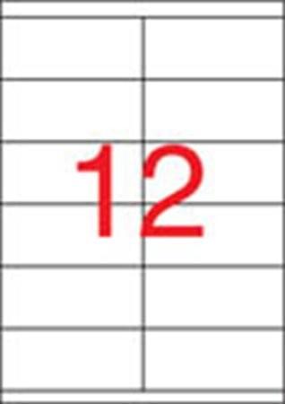 APLI Etikett, univerzális, 105x48 mm, APLI, 1200 etikett/csomag