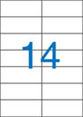 VICTORIA Etikett, univerzális, 105x42,4 mm, VICTORIA, 1400 etikett/csomag