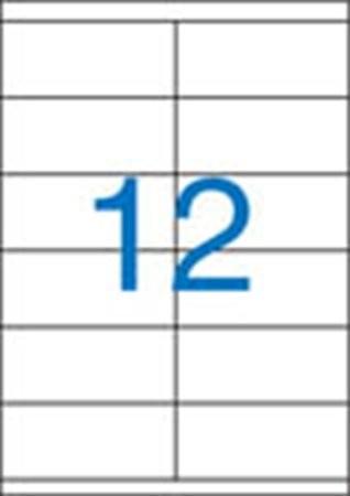 VICTORIA Etikett, univerzális, 105x48 mm, VICTORIA, 1200 etikett/csomag