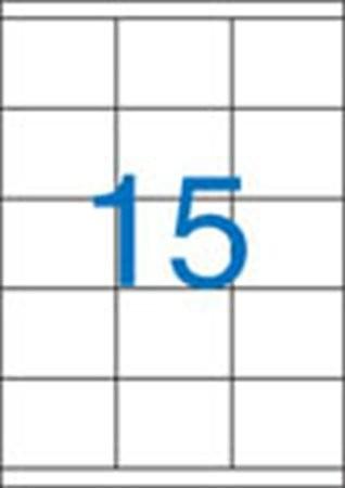 VICTORIA Etikett, univerzális, 70x50,8 mm, VICTORIA, 1500 etikett/csomag