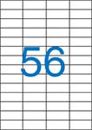 VICTORIA Etikett, univerzális, 52,5x21,2 mm, VICTORIA, 5600 etikett/csomag