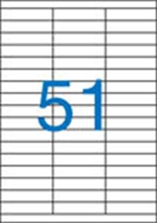 VICTORIA Etikett, univerzális, 70x16,9 mm, VICTORIA, 5100 etikett/csomag