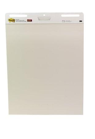 3M POSTIT Meeting chart, öntapadó, 63,5x77,5 cm, 30 lap, 3M POSTIT, fehér