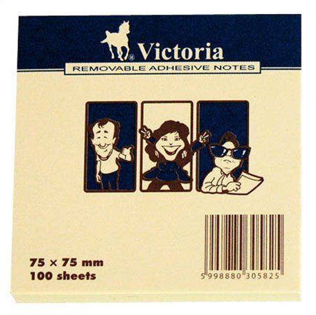 Victoria öntapadó jegyzettömb