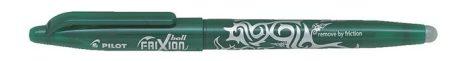 """PILOT Rollertoll, 0,35 mm, törölhető, PILOT """"Frixion Ball"""", zöld"""