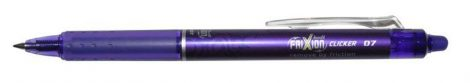 "PILOT Rollertoll, 0,35 mm, törölhető, PILOT ""Frixion Clicker"", lila"
