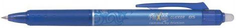 "PILOT Rollertoll, 0,25 mm, törölhető, PILOT ""Frixion Clicker"", kék"