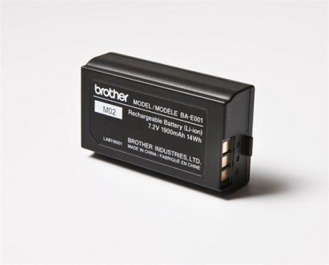 BROTHER Akkumulátor, lítium-ionos, PTH300 és PTH500 típusú feliratozógéphez