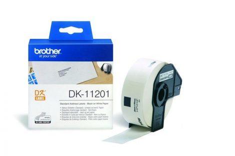 BROTHER Papír címke, QL nyomtatóhoz, 29 x 90 mm, BROTHER