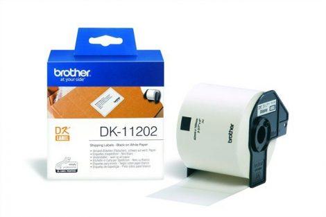 BROTHER Papír címke, QL nyomtatóhoz, 62 x 100 mm, BROTHER