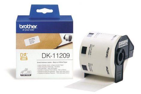 BROTHER Papír címke, QL nyomtatóhoz, 62 x 29 mm, BROTHER