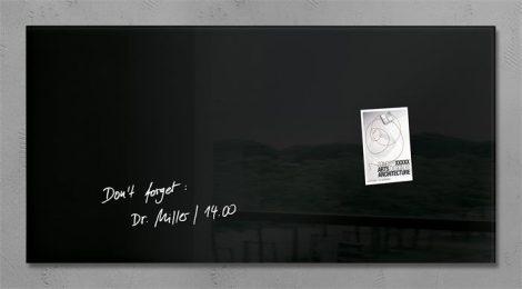 """SIGEL Mágneses üveg tábla, 91x46 cm, SIGEL """"Artverum® """""""
