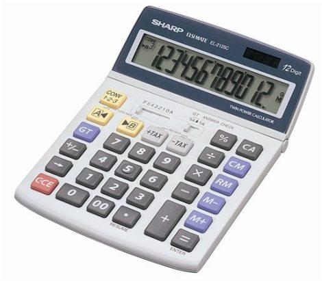 SHARP EL-2125C számológép