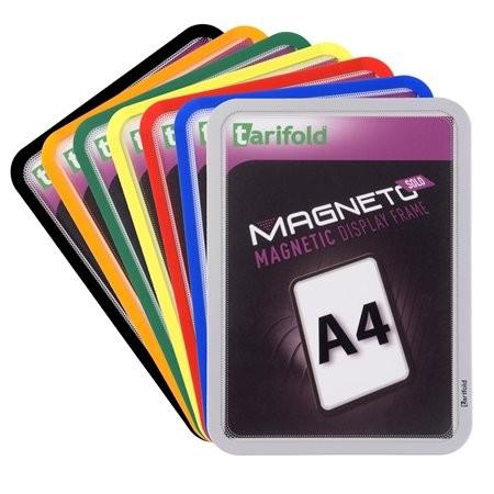 """TARIFOLD Mágneses tasak, mágneses háttal, A4, TARIFOLD """"Magneto Solo"""", zöld"""