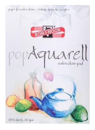 """KOH-I-NOOR Vázlatfüzet, speciális papírból, A3, 10 lap, KOH-I-NOOR """"Pop Aquarell"""""""