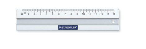 """STAEDTLER Vonalzó, alumínium, 15 cm, STAEDTLER """"Mars"""""""