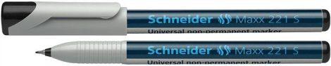 """SCHNEIDER Alkoholmentes marker, OHP, 0,4 mm, SCHNEIDER """"Maxx 221 S"""", fekete"""